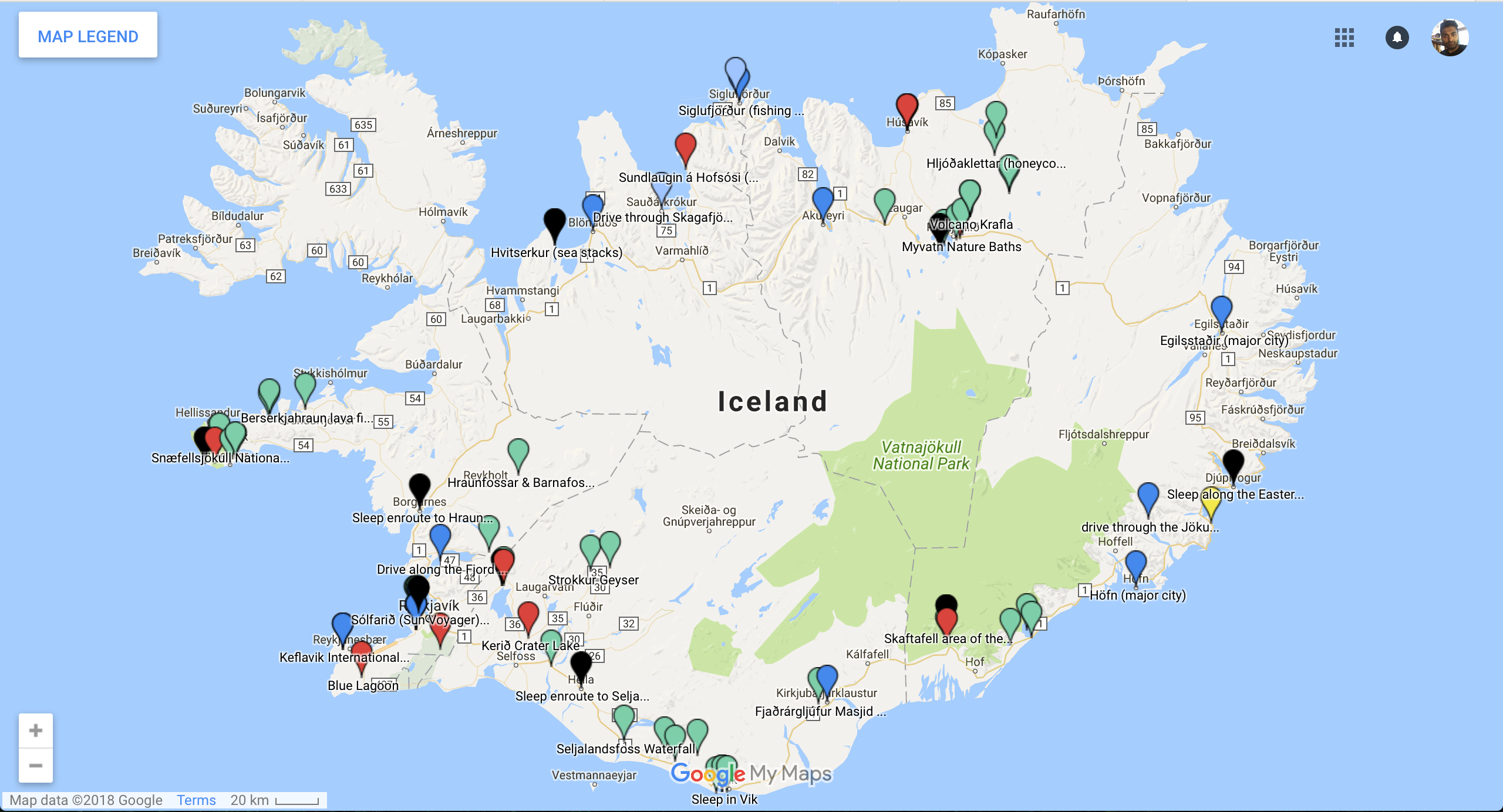 Experience Iceland: A Helpful Guide for the Land of Fire and Ice on iceland travel itinerary, iceland in 10 days itinerary, road trip itinerary,